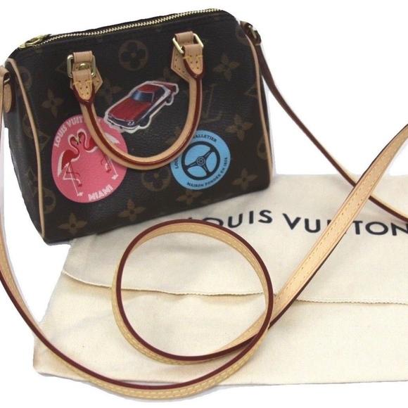 8e554f1fa08 Louis Vuitton Bags   World Tour Monogram Nano Speedy   Poshmark